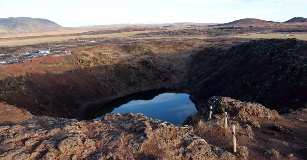 Kerio, Ijsland, kratermeer