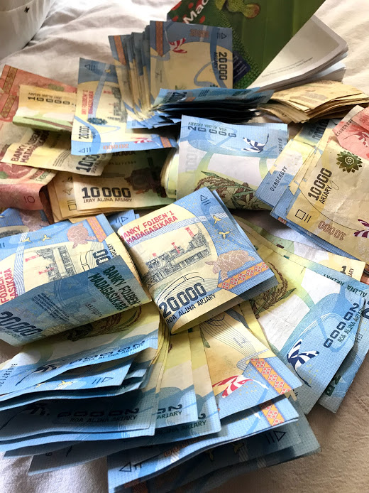 MGA, Madagaskars geld