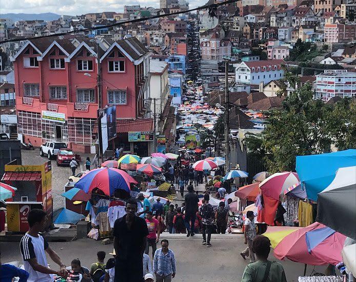 Antananarivo, hoofdstad van Madagaskar