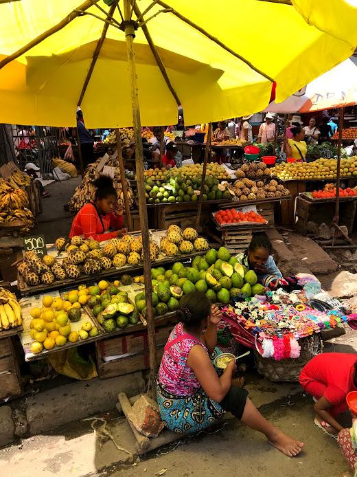 Fruitmarkt in Antananarivo