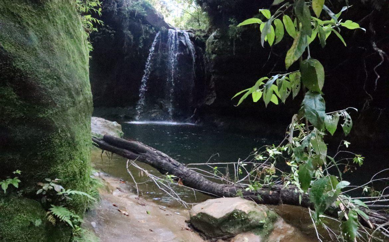 Zwarte waterval