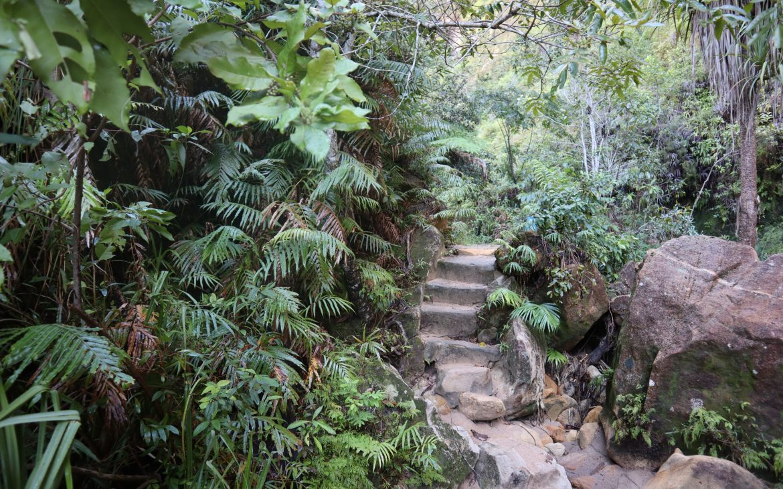Isalo National Park, stuk van de route