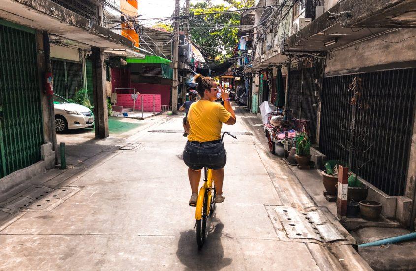 Thailand | Op de fiets door Bangkok, wel of niet doen?